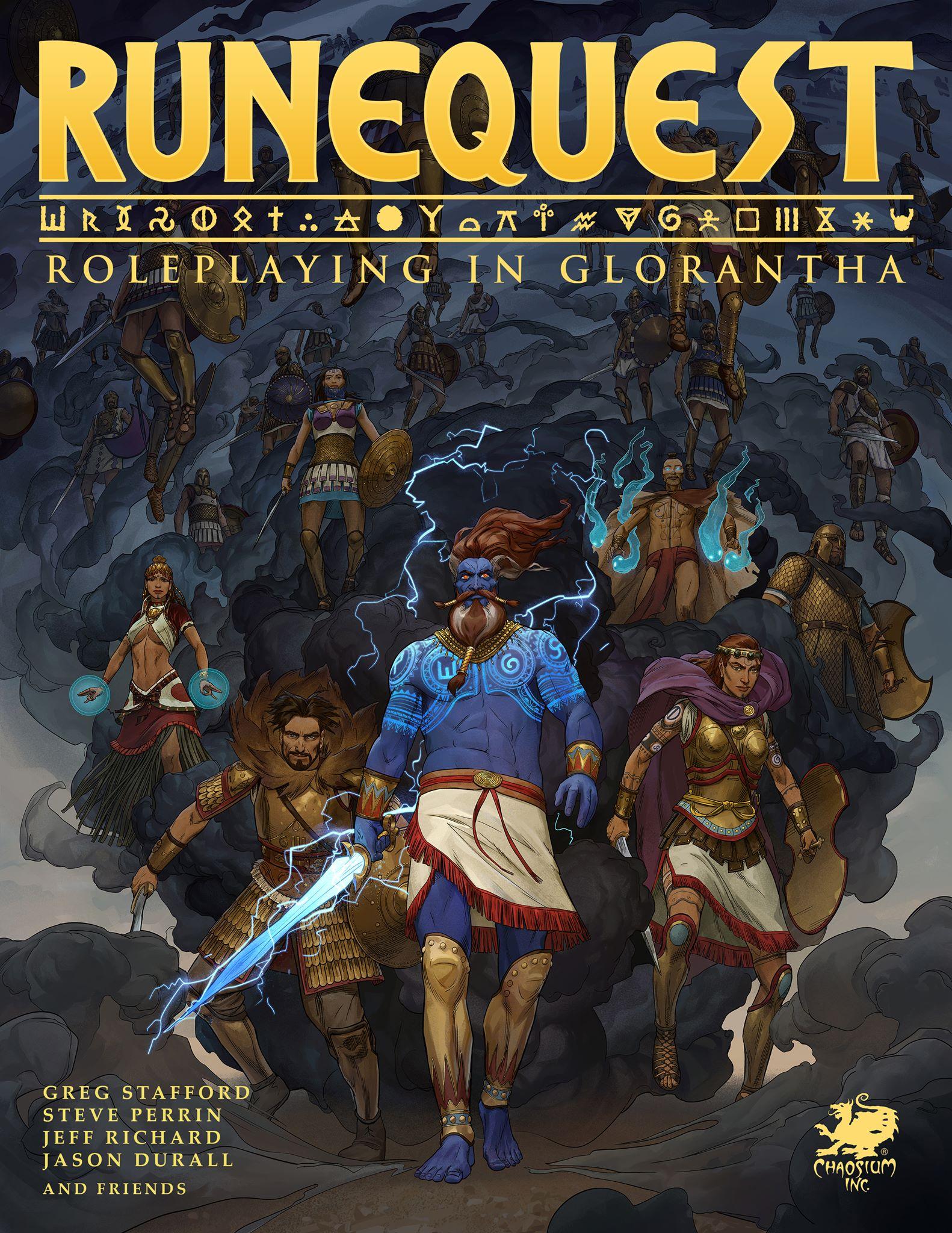 Eloso får rättigheterna till Runequest